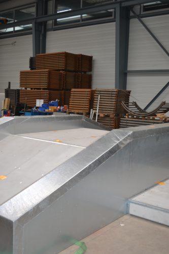 Carenage d'un modules de roller