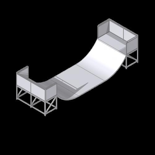 mini rampe 1.20 x 3.00 m