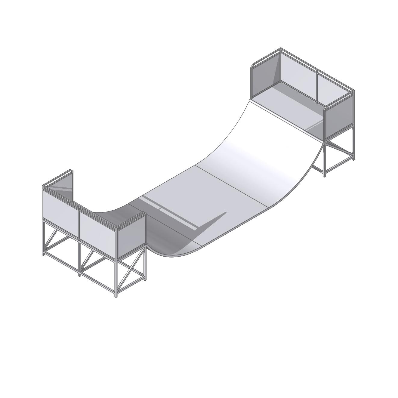 plans fabriquer rampe de skate