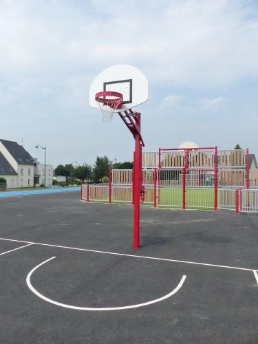 But de basket hauteur réglable