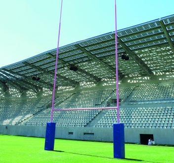 Fabricant d 39 quipements pour terrain de rugby sport nature for Poteaux de rugby pour jardin
