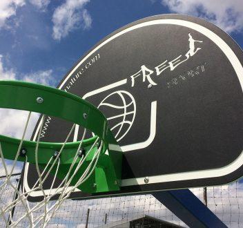 Options et quipements sport nature for Panneau de basket exterieur