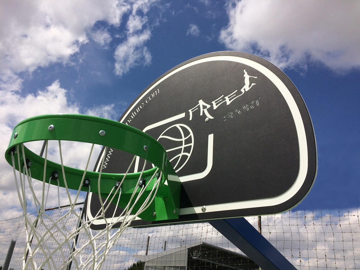Fabricant d 39 quipements sportifs pour clubs et collectivit s sport nature - Panneau basket exterieur ...