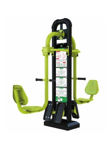 Le squat machine muscle le haut du dos